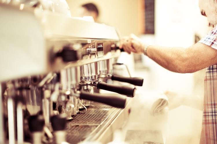 Steam rising, it's Espresso Time.