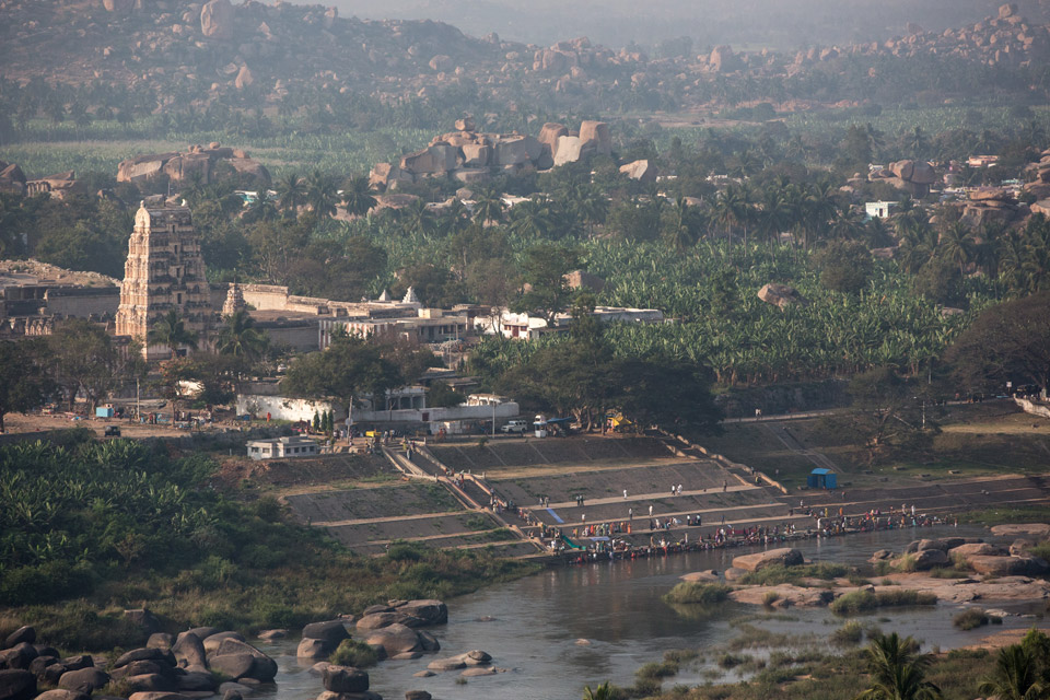 Hampi - the ghats