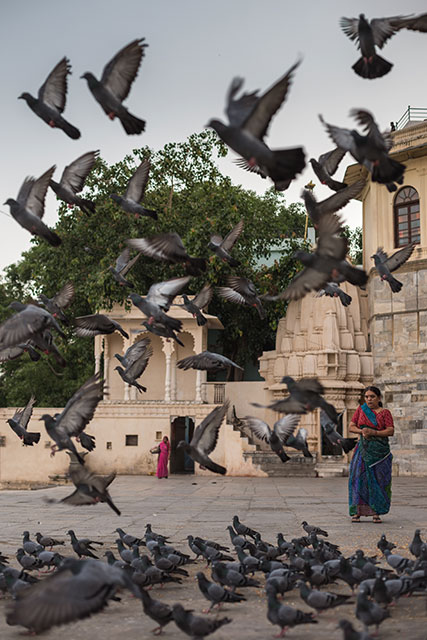 North India - Udaipur in the morning