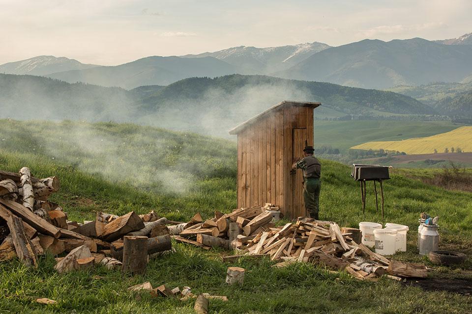 Salaš - Smoking house