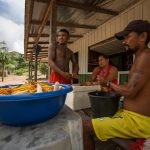 From fishermen to farmers. Indigenous people are_forced_through a very difficult transition