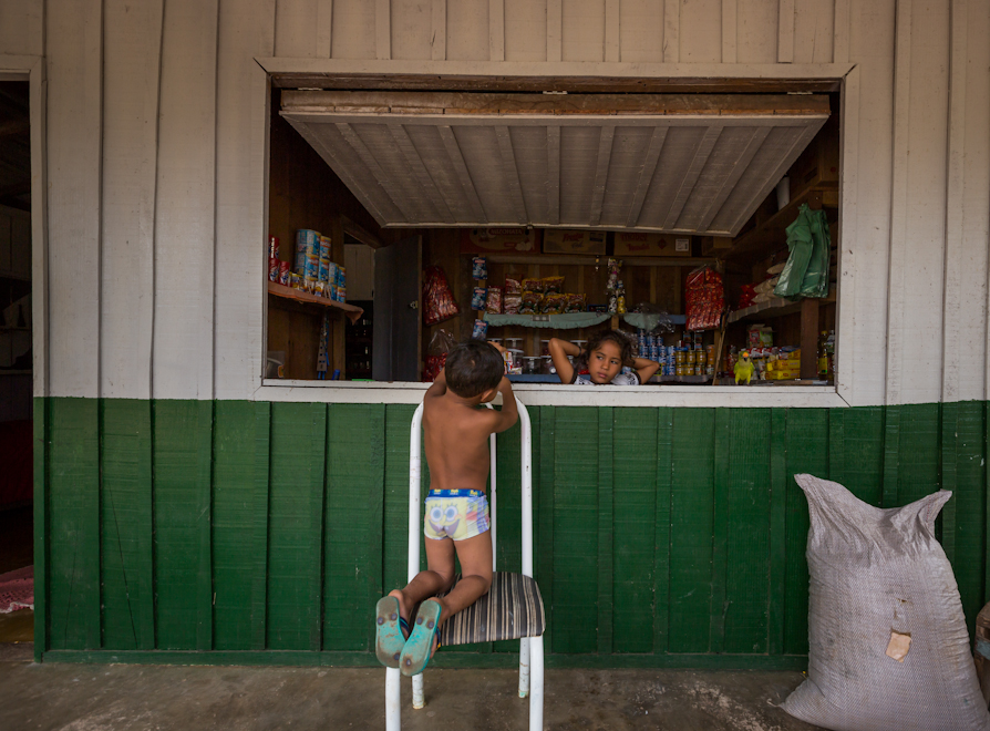 The Village's grocery store: Belo Monte is changing the Juruna's dietary and cultural habits