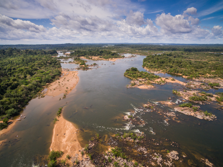Belo Monte mega dam is drying_out_the_home of Juruna, Volta Grande of Xingu