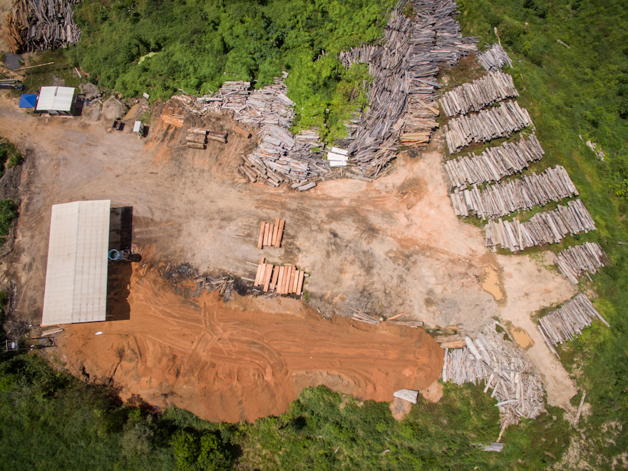Belo Monte: Trees were cut down, to form the dam reservoir